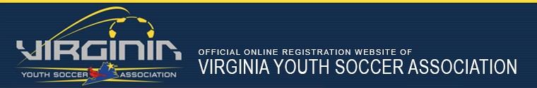 Virginia Youth Soccer Association banner